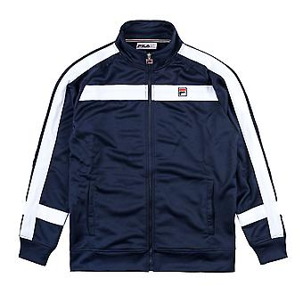 FILA track jacket Renzo white line Pannelled