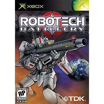 Robotech strijdleuze (Xbox)