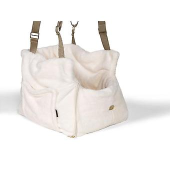 Teddy Bear Dog / Pet Carrier for Office and travel Ivory