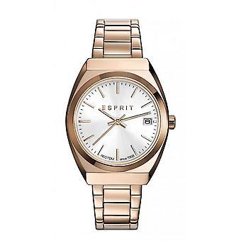 ESPRIT ladies watch bracelet watch Emily stainless steel Rosé ES108522004
