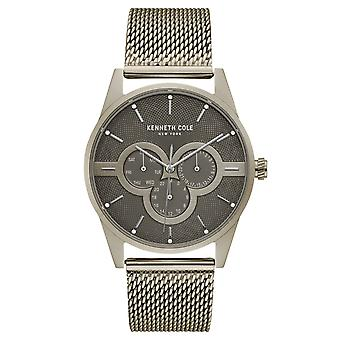 Kenneth Cole New York men's wrist watch analog quartz stainless steel KC15205002