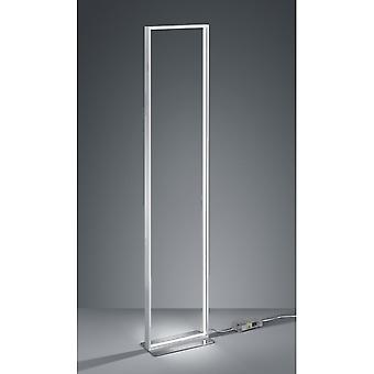 Trio Lighting Azur Modern Brushed Aluminium Aluminium Floor Lamp