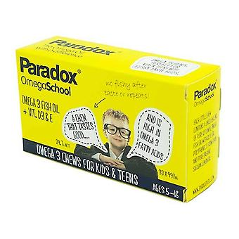 Paradox Omega School Omega 3 Chews for Kids and Teens
