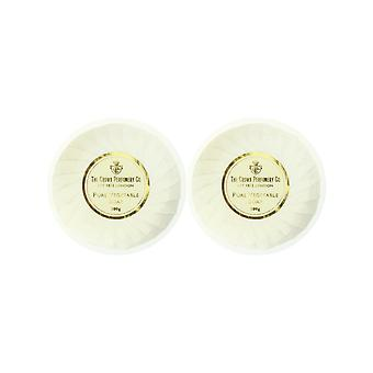 The Crown Perfumery Crown Of Gold PureVegetable Soap 3.5oz Unboxed (Pack of 2)