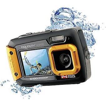Easypix W-1400 Digital camera 14 MPix Black/orange Dustproof, Underwater camera, Front display