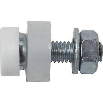 SWG 2104280 número placa los tornillos M5 20 mm ranura acero zinc plateado 4 PC