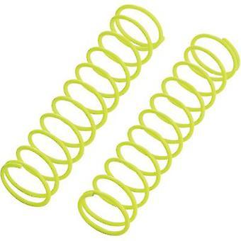 Reely 1:10-schokdemper tuning voorjaar Medium Neon geel 72,5 mm 2 PC('s)