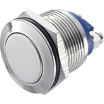 TRU COMPONENTS GQ 19F-N Tamper-proof pushbutton 48 Vdc 2 A 1 x Off/(On) IP65 momentary 1 pc(s)