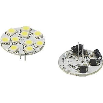 Renkforce LED (monokrom) G4 penn 1.5 W = 10 W Cool white (Ø x L) 30 x 30 mm 1 eller flere PCer