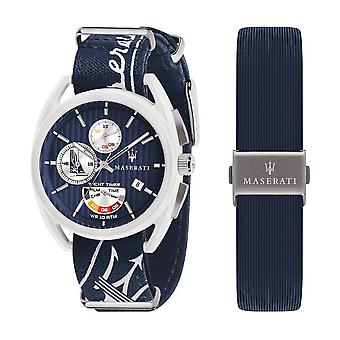 Maserati Herrenuhr Trimarano chronograph limited edition R8851132003