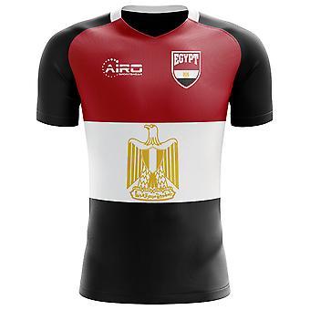 2018-2019 مصر العلم مفهوم كرة القدم قميص