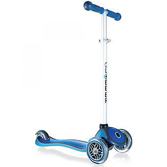 My Free Up Primo Plus Micro Mini Scooter - 3 Wheel Scooter - Blue - Globber