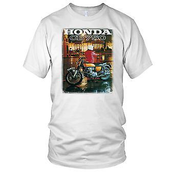 Honda CB750 klassieke fiets Poster Kids T Shirt