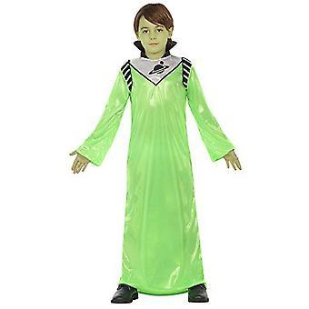 Infantiles disfraces traje de niños Alien verde para niños