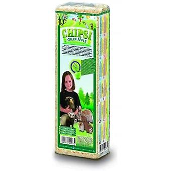 Chipsi Hygienic Bedding Green Apple Chisp (Small pets , Bedding)