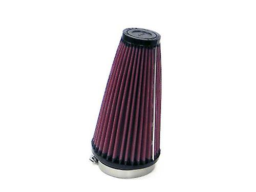 K&N RU-3590 Universal Clamp-On Air Filter  Round Taperouge; 2.75 in (70 mm) Flange ID; 7 in (178 mm) Height; 4 in (102 mm)