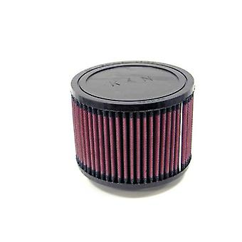 K&N RU-0950 Universal Clamp-On Air Filter: Round Straight; 2.75 in (70 mm) Flange ID; 4 in (102 mm) Height; 5.5 in (140