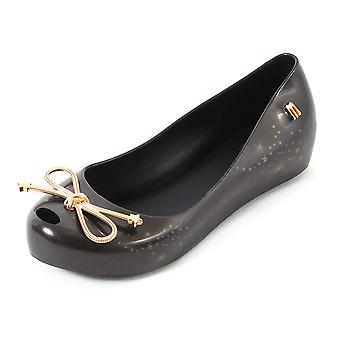 Mel Dreamed By Melissa Kids Ultragirl Elements Plastic Flat Black