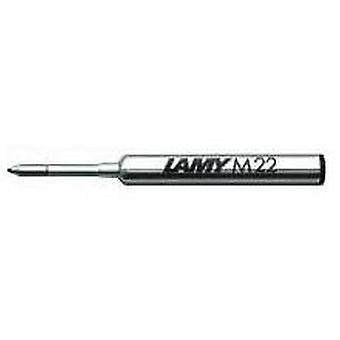 Lamy M 22 amplio compacto bolígrafo recarga - negro