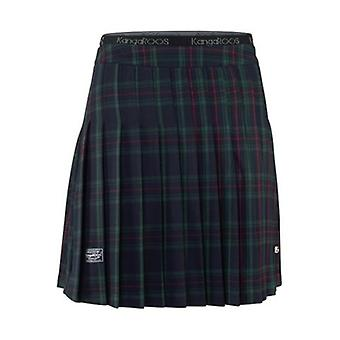 KangaROOS of ladies Plaid mini skirt tennis