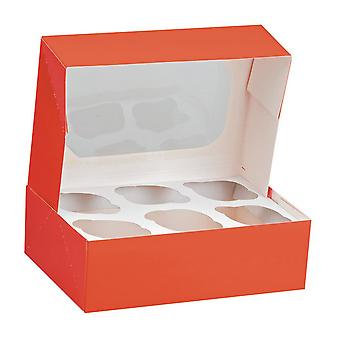 Club Green 6 Muffin Box (Pack Of 2)