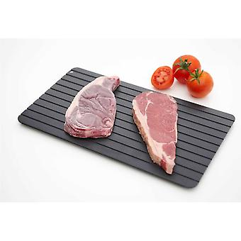 Defrosting Tray Rapid Meat Defrost Aluminium Tray 35.5x20.4cm