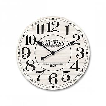 Modern Watch White Wood With Black Lettering-Re4979-Rebecca's Furniture