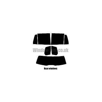 Pre cut window tint - Mercedes GLK 5-door - 2009 and newer - Rear windows