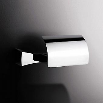 Sonia S7 Toilet Roll Holder with Flap Chrome 131853