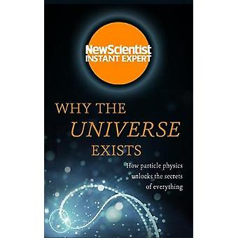 Why the Universe Exists - How particle physics unlocks the secrets of