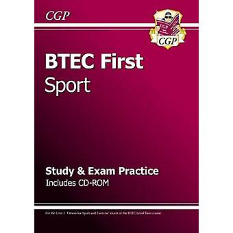 BTEC First in Sport - Study & Exam Practice with CD-Rom by CGP Books