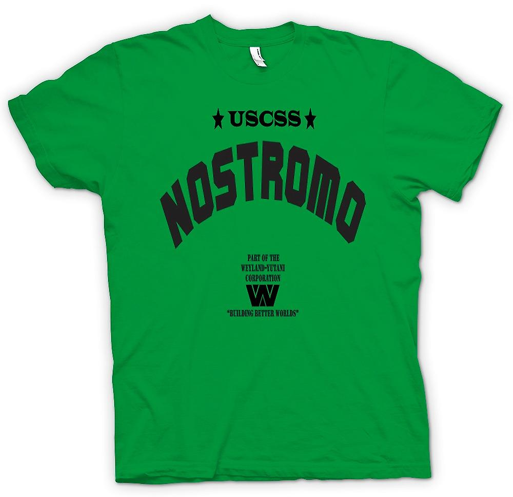 Mens T-shirt - Alien Nostromo - Sci Fi - Horror - Movie