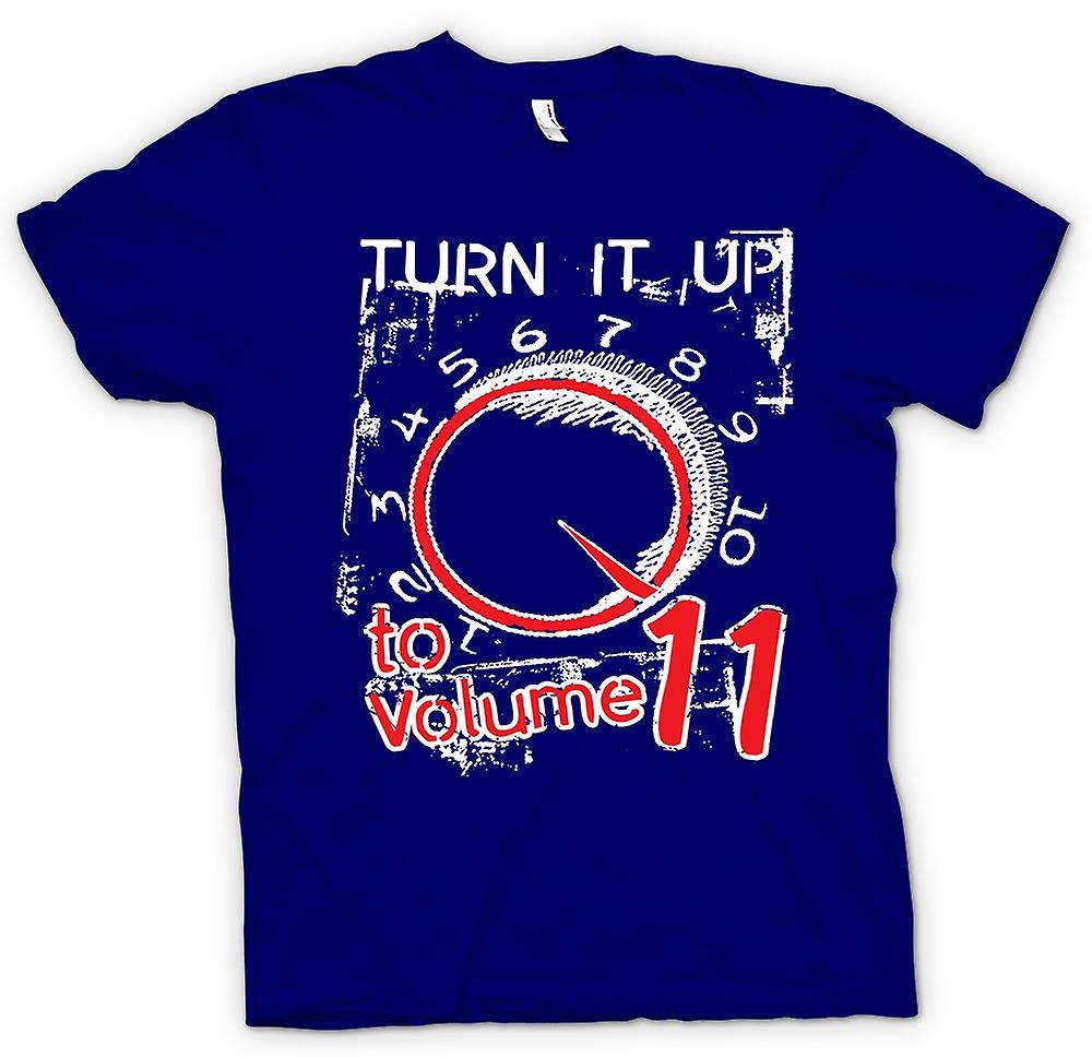 Heren T-shirt - Spinal Tap Volume 11 - Funny