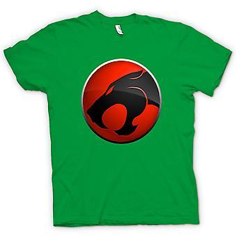 Kids t-skjorte-Thundercats Red / Black Logo