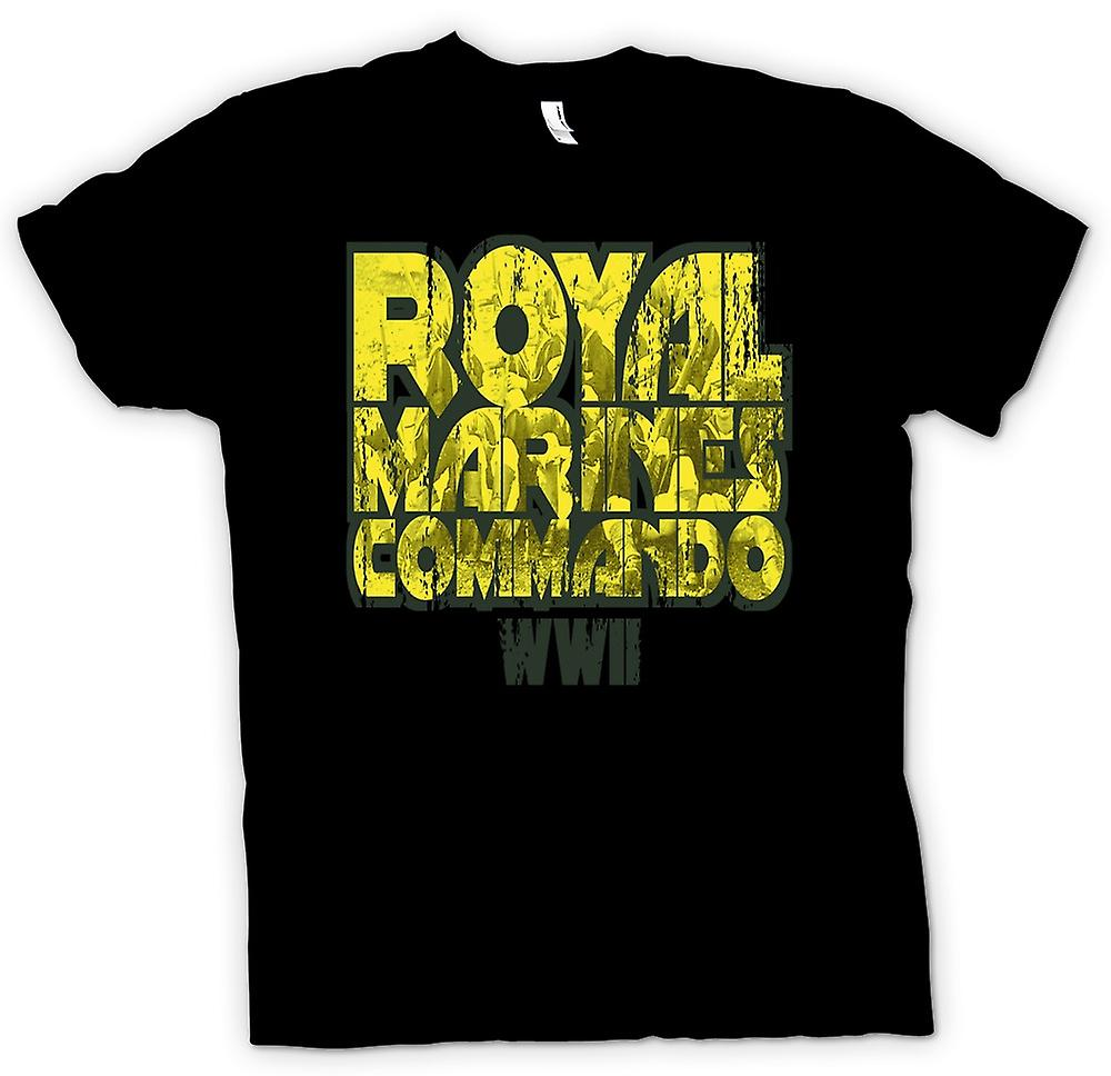 Kids T-shirt - Royal Marines Commando WW2