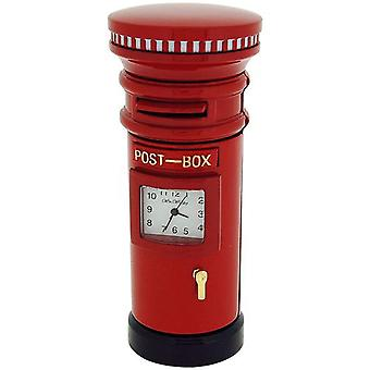 Miniature Red Letter box Novelty Quartz Movement Collectors Clock 9757