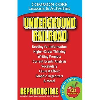 Underground Railroad: Common Core Lessons & Activities