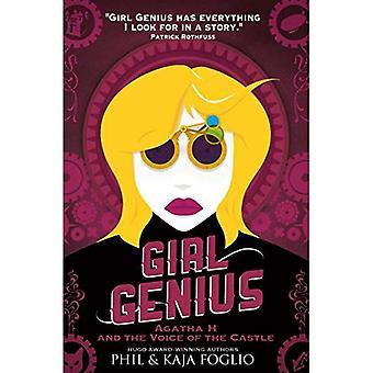 Meisje Genius - Agatha H en de stem van het kasteel (meisje Genius roman 3)