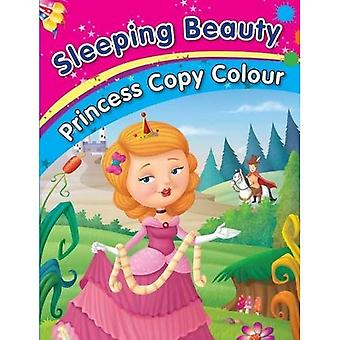 Sleeping Beauty (série princesse copie couleur)