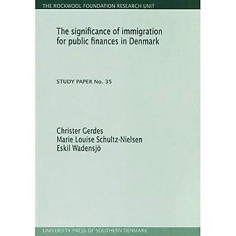 Significance of Immigration for Public Finances in Denmark: Study Paper No. 35 (Rockwool Foundation Research Unit Study Paper)