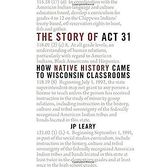 The Story of ACT 31: How Native History Came to Wisconsin Classrooms