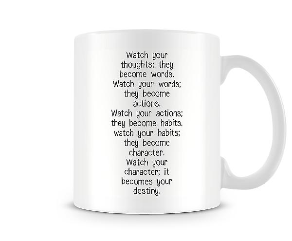 Watch Your Thoughts Mug