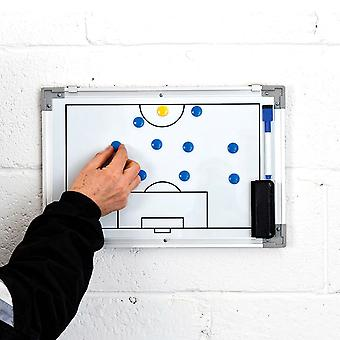Precision Training Double-Sided Football Soccer Wall Tactics Board Small