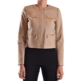 Michael Kors Brown Cotton Outerwear Jacket