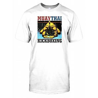 Muay Thai kickboxning - Ram Muay - kampsport Mens T Shirt