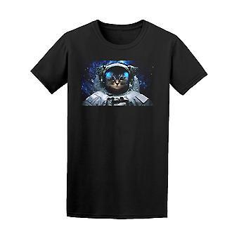Astronaut Space Cat Galaxy Tee Men's -Image by Shutterstock