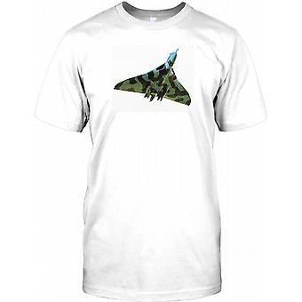 RAF Avro Vulcan Bomber - Legendary British Aircraft Mens T Shirt