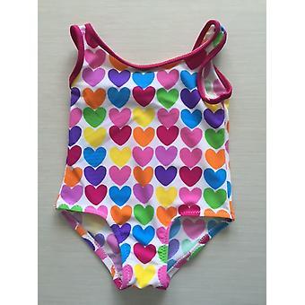 Aqua Perla-baby - Baby Doll - tryckt - Spf50 + - baby - ett stycke badkläder