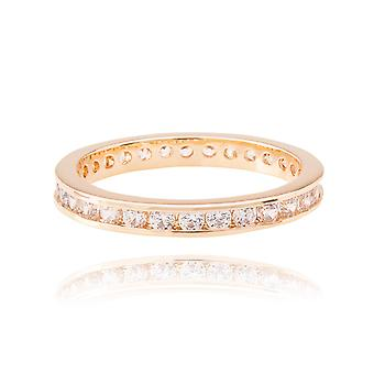 Ah! Jewellery Full Eternity Band. Gold Filled, Stamped GL