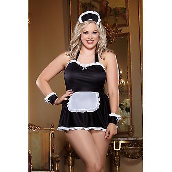 "DREAMGIRL ""Maid Me Naughty� Costume 4 Piece Set"